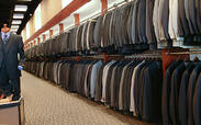Thousands of mens suits