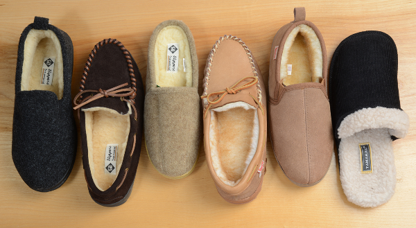 Men's slippers up to a size 16 wide