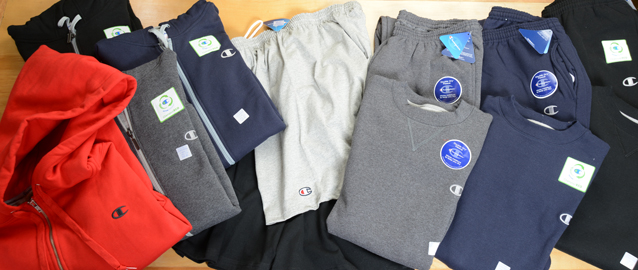 Mens sweatpants, sweatshirts and shorts