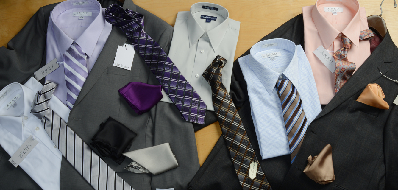 Charney's has everything you could possibly need or want for men. And they coordinate it all for you to select from. They're not commissioned sales people either, so there is no pressure... stop by and see for yourself!