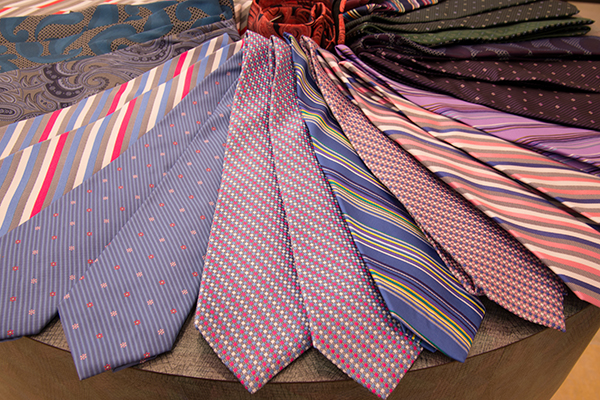 Pick your silk tie from hundreds of styles and colors